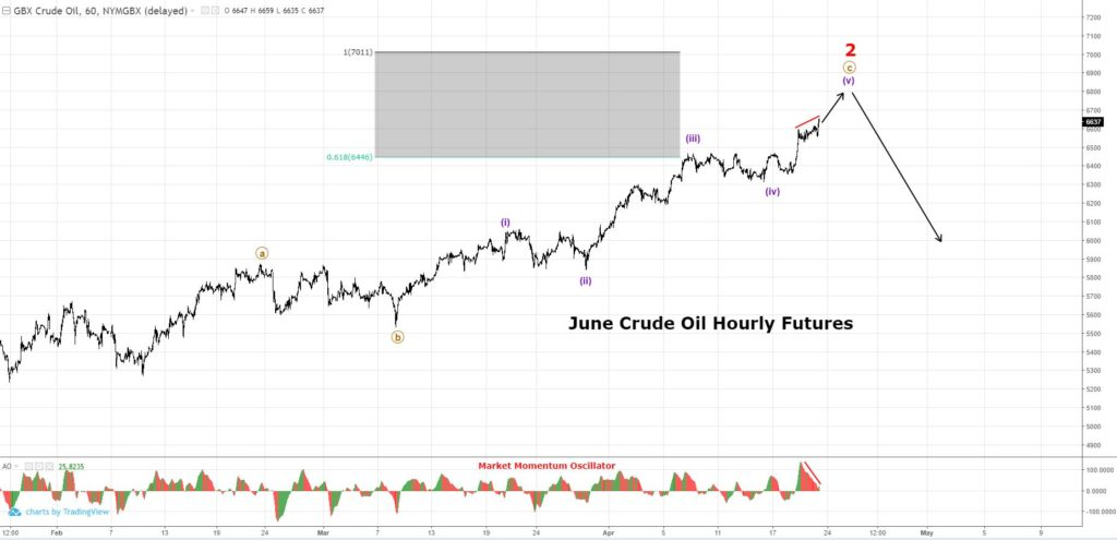 Crude Oil Hourly Futures